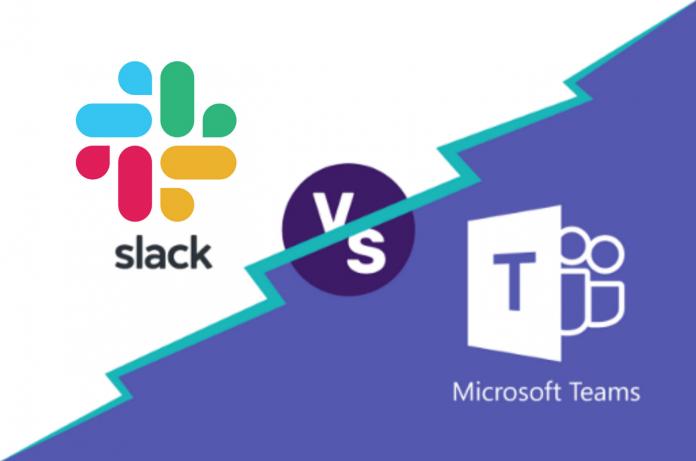 Slack Amazon Microsoft