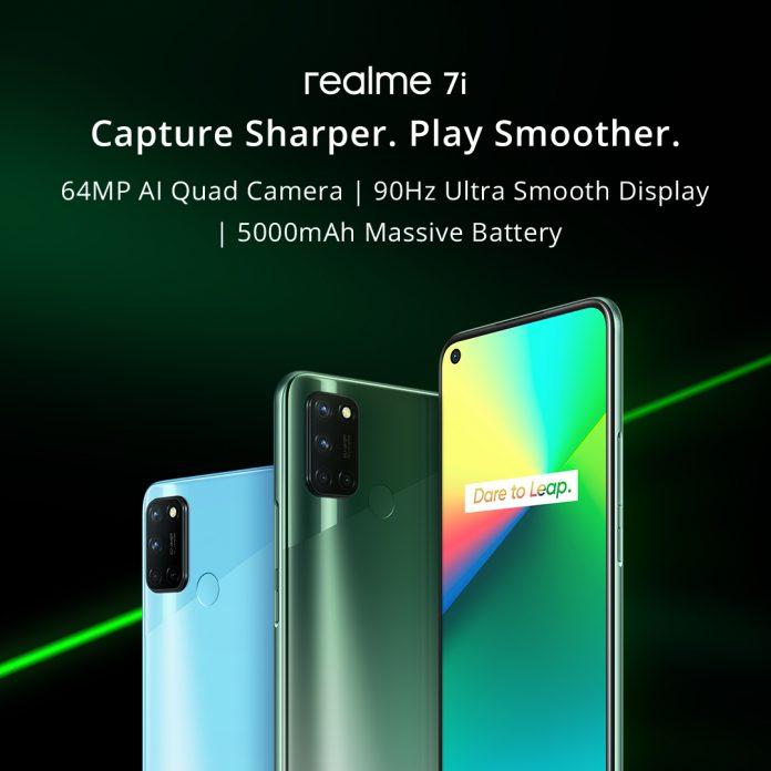 Realme 7i - Capture Sharper, Play Smoother