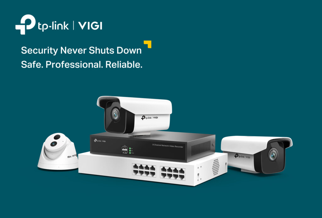 VIGI, An advanced Video Surveillance brand from TP-Link