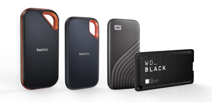 Western Digital 4TB Higher Capacity Portable SSD for consumer brand portfolio
