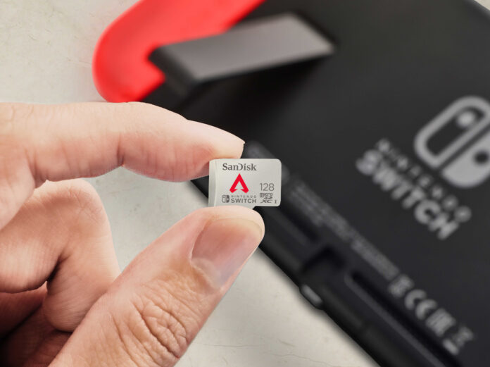SanDisk 128GB Apex Legends Edition for Nintendo Switch