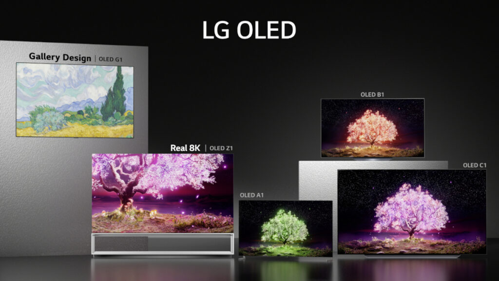LG OLED TV Lineup for 2021