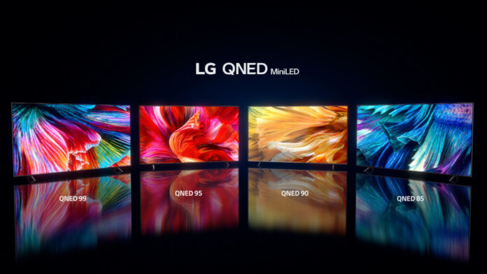 LG Electronics QNED MiniLED TV for 2021