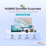 Huawei Summer Surprises announces in the UAE on Huawei MateBook D14