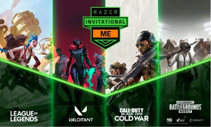 Razer e-Sports event Razer Invitational Middle East